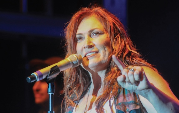 Jo Dee Performs at Rock The Prairie For Senior Care Campus